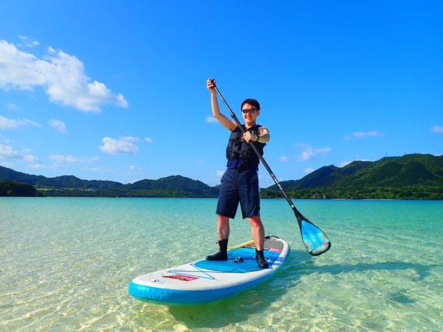 石垣島 海 SUP 写真