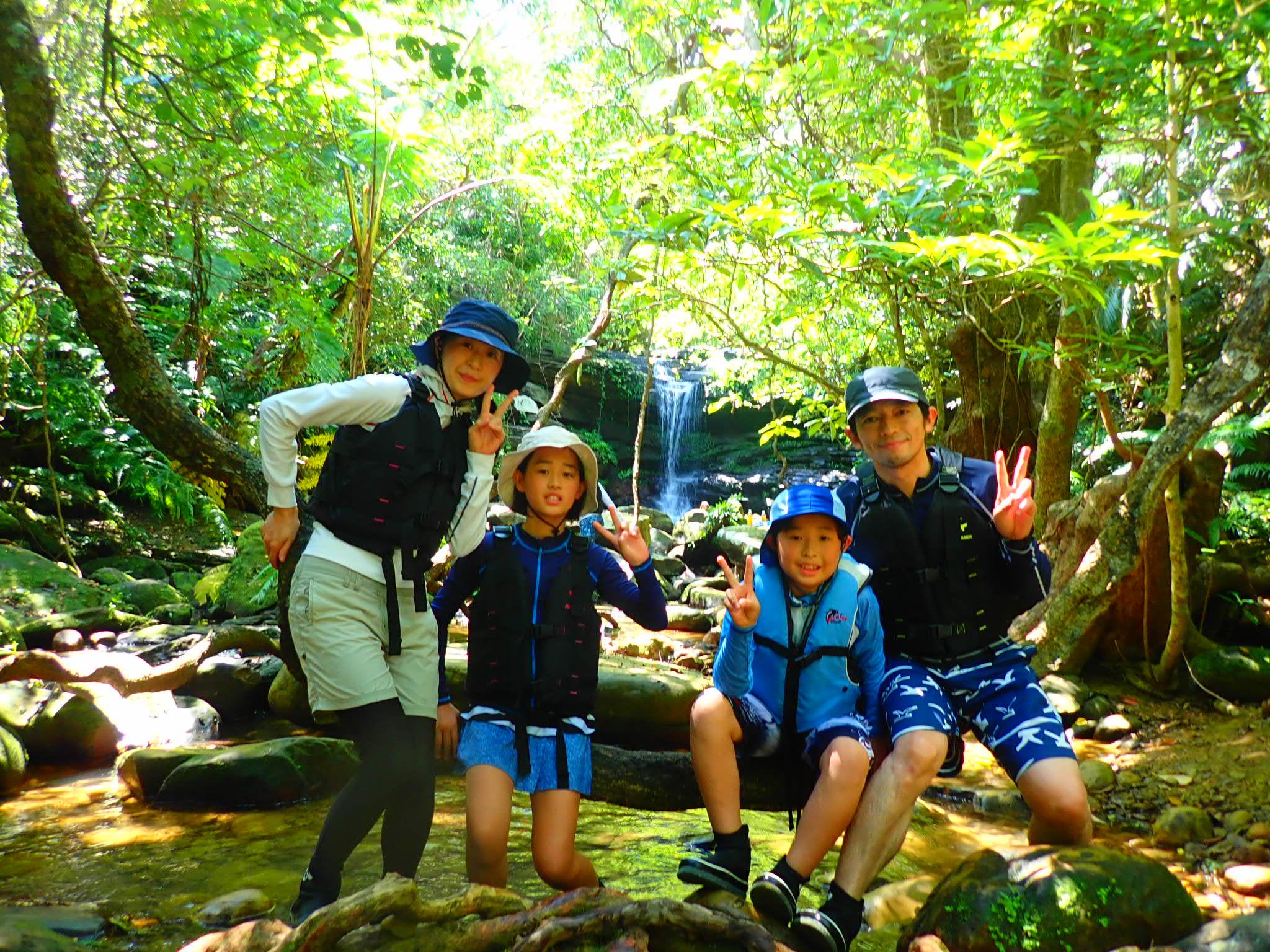 家族で秘境・西表島を大満喫!1日ファミリーツアー