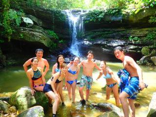 西表島のド定番!「幸運の滝」を目指すマングローブカヌー