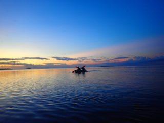 夕焼け空にうっとり黄昏…秘境ジャングル&サンセットカヌー