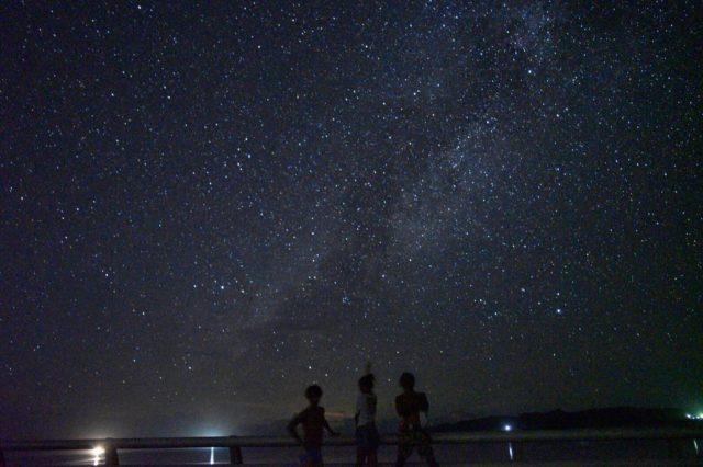 西表島 満天の星空