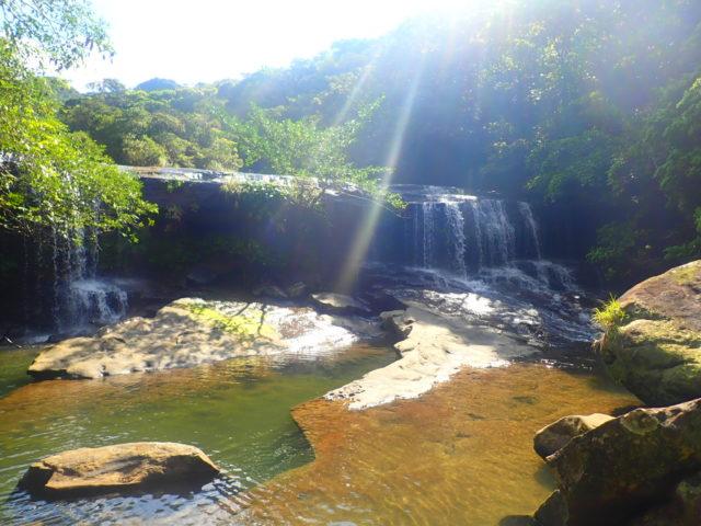 西表島サンガラの滝