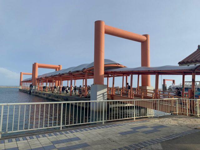 西表島 大原港 写真