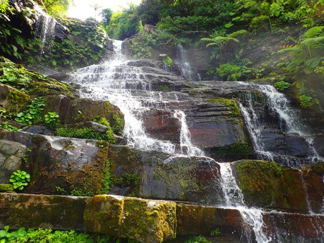 ゲータの滝の三段目
