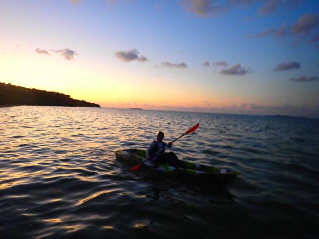 西表島 サンセットカヌー