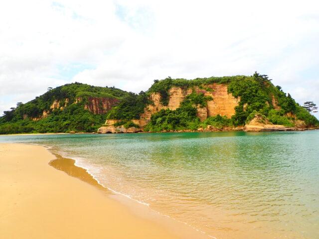 西表島 トゥドゥマリ浜