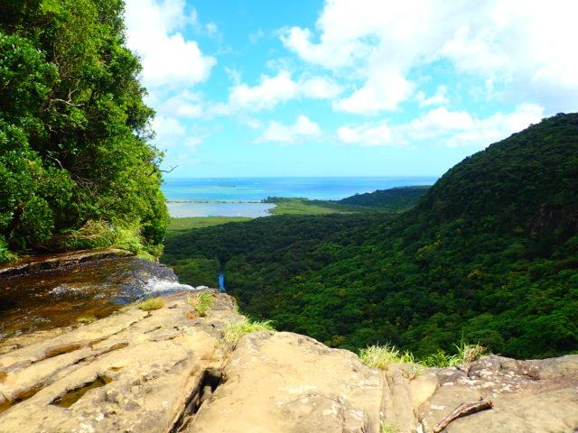 ピナイサーラの滝上からの景色