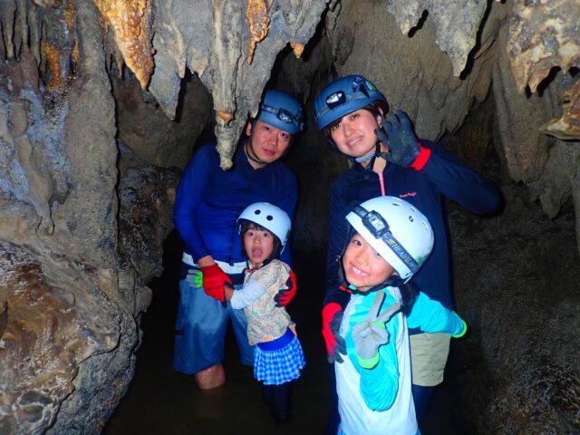 西表島 鍾乳洞探検