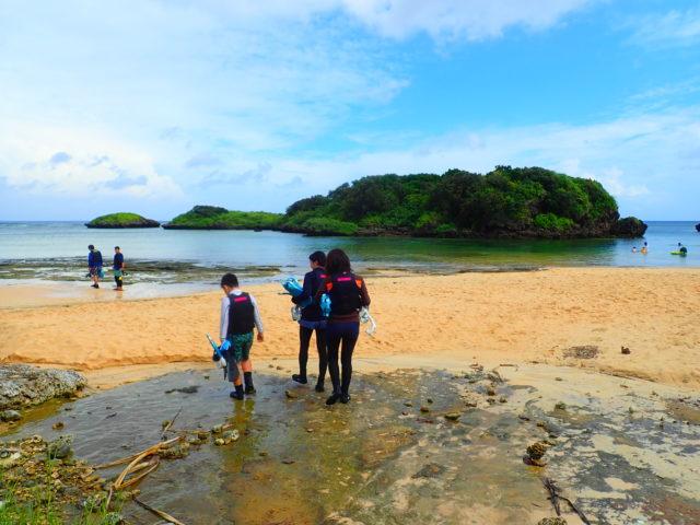星の砂ビーチ