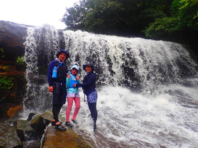 西表島 サンガラの滝