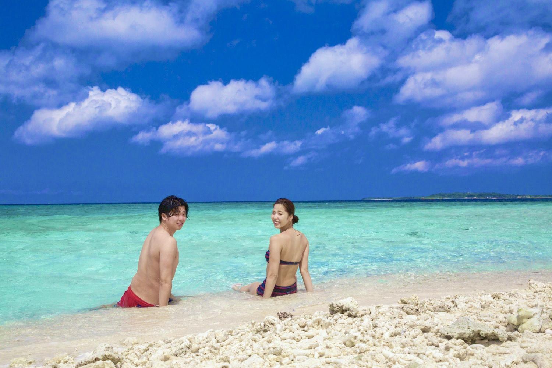 「奇跡の島」と「亜熱帯楽園」を制覇!バラス島シュノーケリング&由布島観光