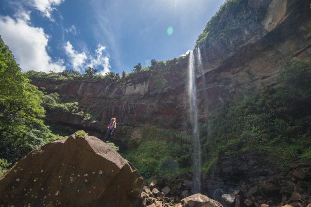 西表島 ピナイサーラ 滝