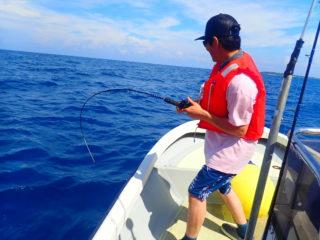西表島の海でだれでも爆釣!ボートフィッシングツアー