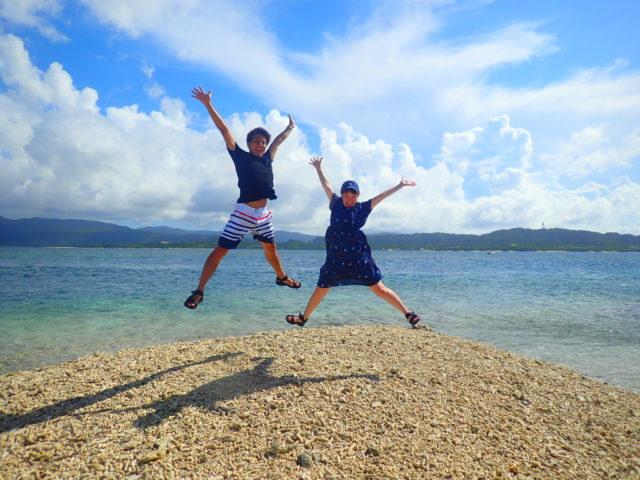 バラス島 ジャンプ