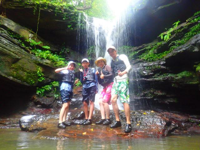 西表島 クーラ滝