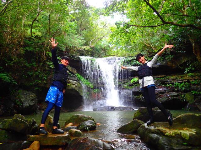 西表島 クーラの滝