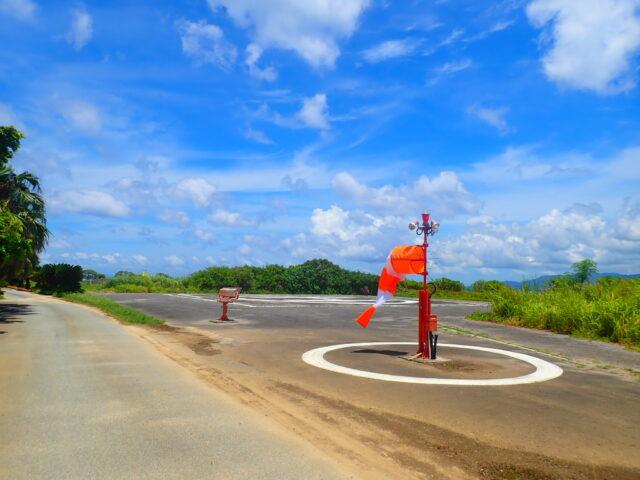 鳩間島の道路