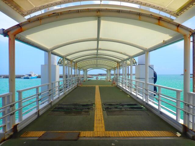 西表島 上原港 桟橋